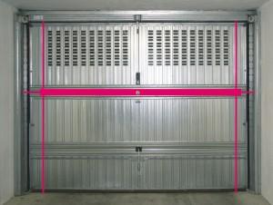Bascula lock e garage block un altro servizio di - Serratura porta basculante garage ...