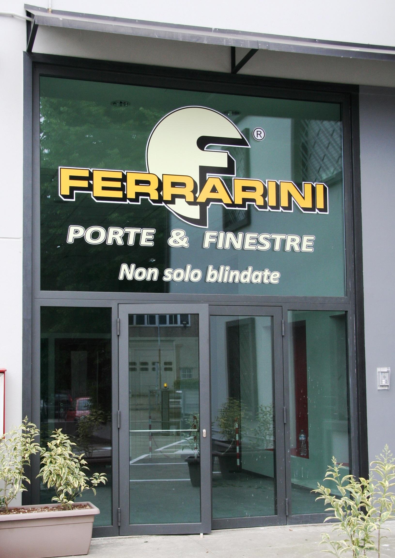 Ingresso della nuova sede Ferrarini