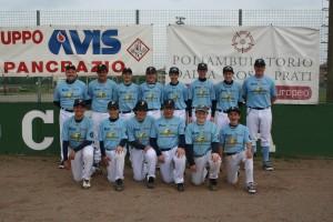 La Squadra Allievi A della Ferrarini Crocetta Baseball
