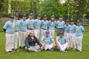 La Squadra Allievi B della Ferrarini Crocetta Baseball