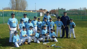 La Squadra Ragazzi B della Ferrarini Crocetta Baseball