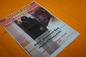Locandina dell'evento di San Pancrazio dedicato alla sicurezza